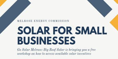 Solar Workshop for Local Businesses