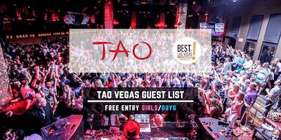 TAO Nightclub - FREE Entry Girls/Guys - Vegas Guest List - #1 Promoters