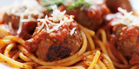 Tony's Italian Favourites Supper Club tickets
