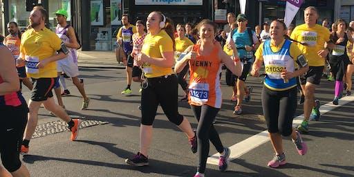 Royal Parks Half Marathon 2019 - Own place registration form