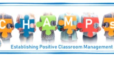 CHAMPS for Teachers - 01/30/19