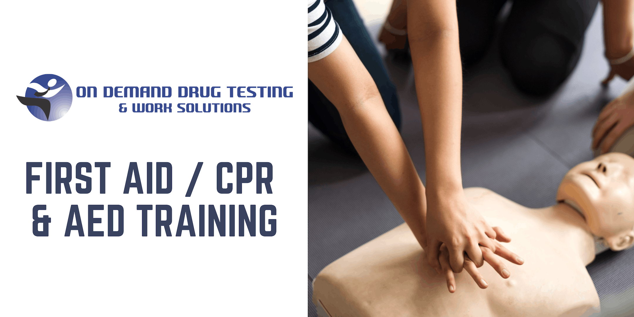 On Demand First Aid / CPR & AED Training - We