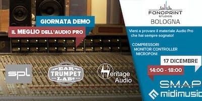 Pro Audio Demo @ Fonoprint by SMAP e MidiMusic