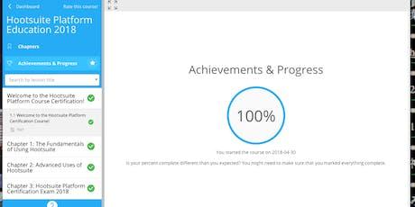 Hootsuite Platform Exam Certification Answers entradas