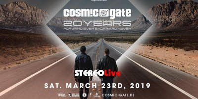 Cosmic Gate: 20 Years - Dallas