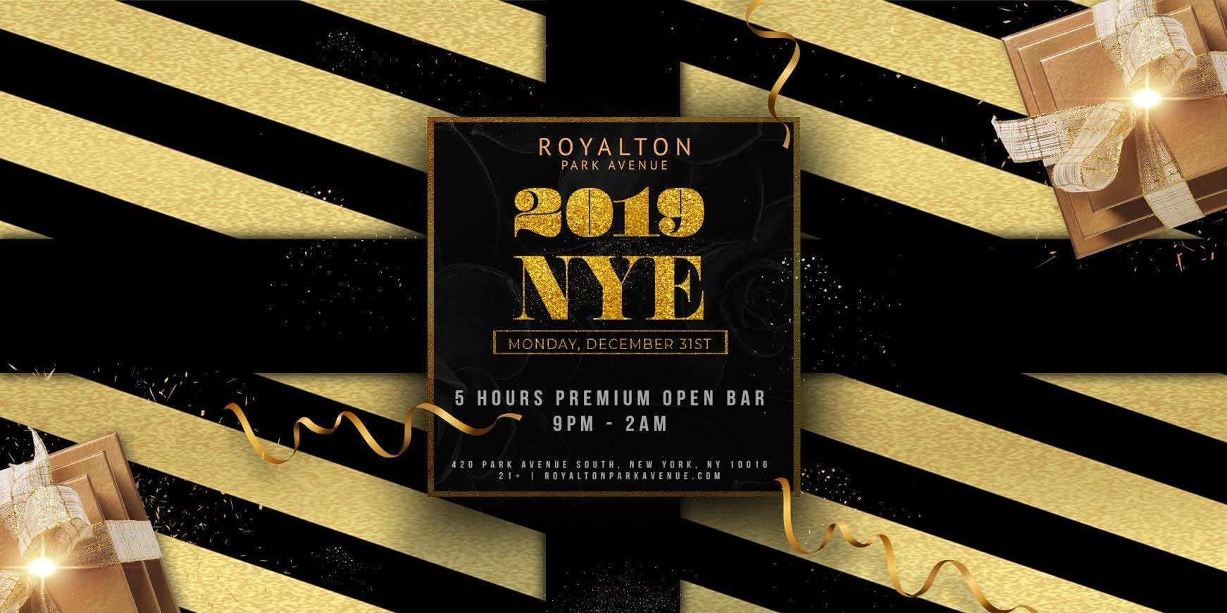 New Year's Eve 2019 at Royalton Park Avenue w