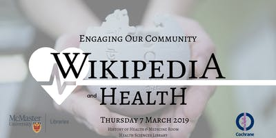 Wikipedia & Health: Engaging Our Communities