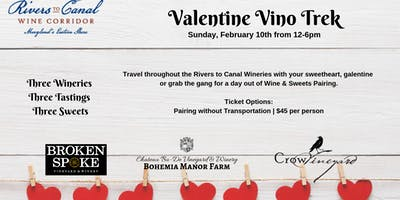 Rivers to Canal Valentine Vino Trek