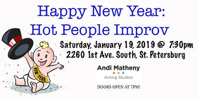 Happy New Year: Hot People Improv
