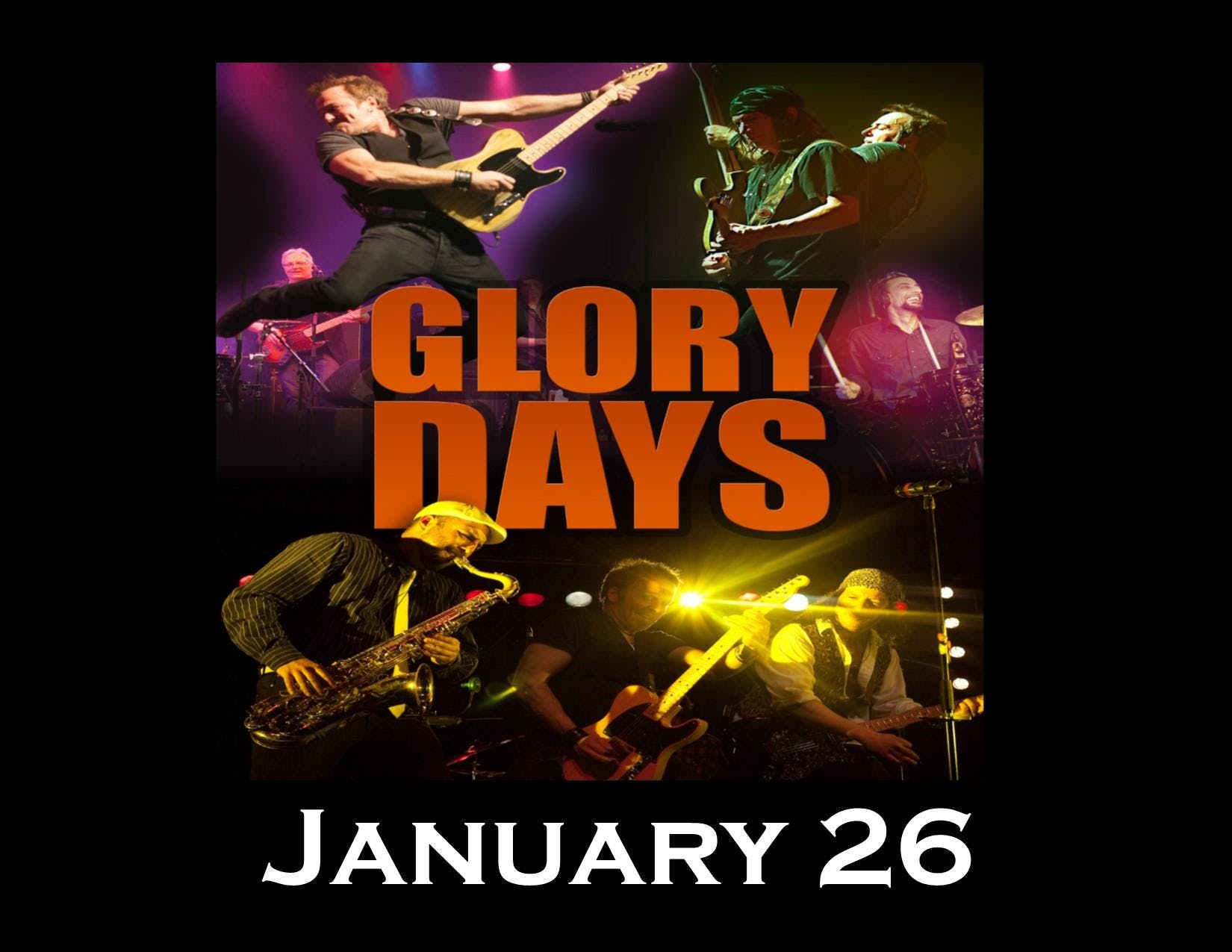 Glory Days - A Bruce Springsteen Experience