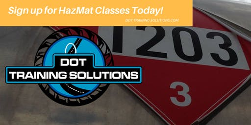 DOT Hazmat Training, General Awareness and Security, Jacksonville, FL