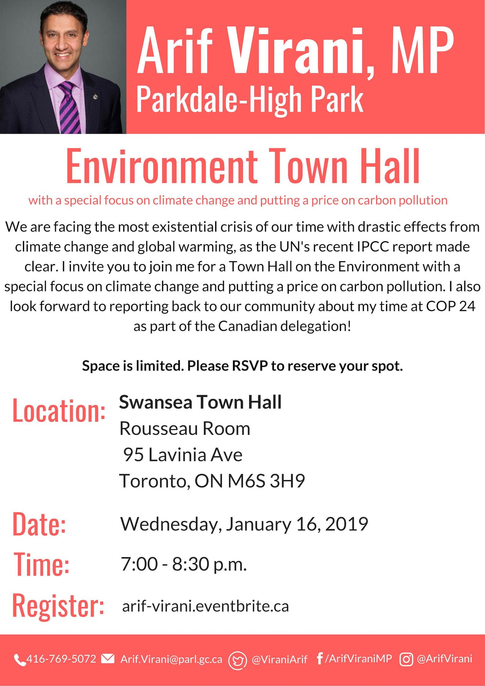Town Hall on the Environment