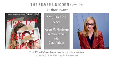 Author Event: Karen M. McManus in conversation with Sara Farizan