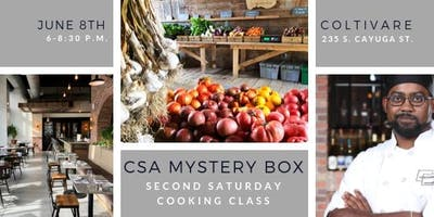 Cooking Class: CSA Mystery Box