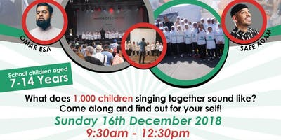 Voice of Peace Big Sing Up 2018