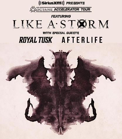 Sirius Octane Tour featuring Like A Storm