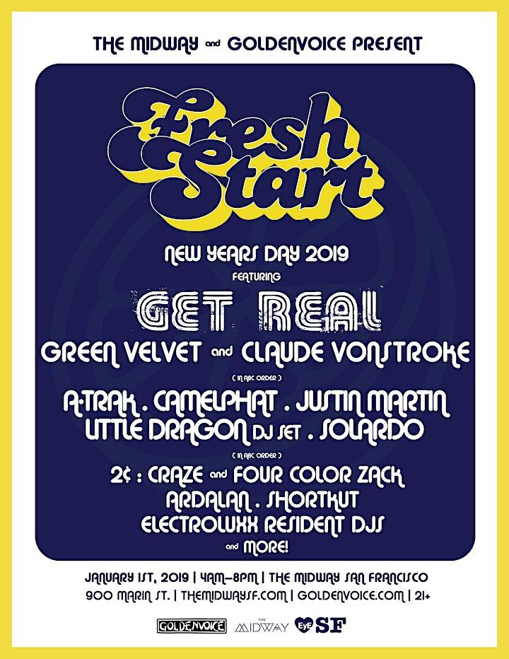 Get Real (Claude VonStroke & Green Velvet) + more at FRESH START image