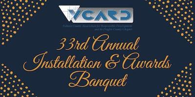 33rd Annual Installation & Awards Banquet