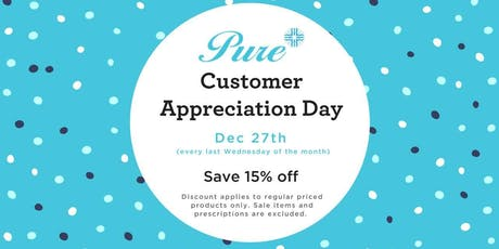 Customer Appreciation Day tickets