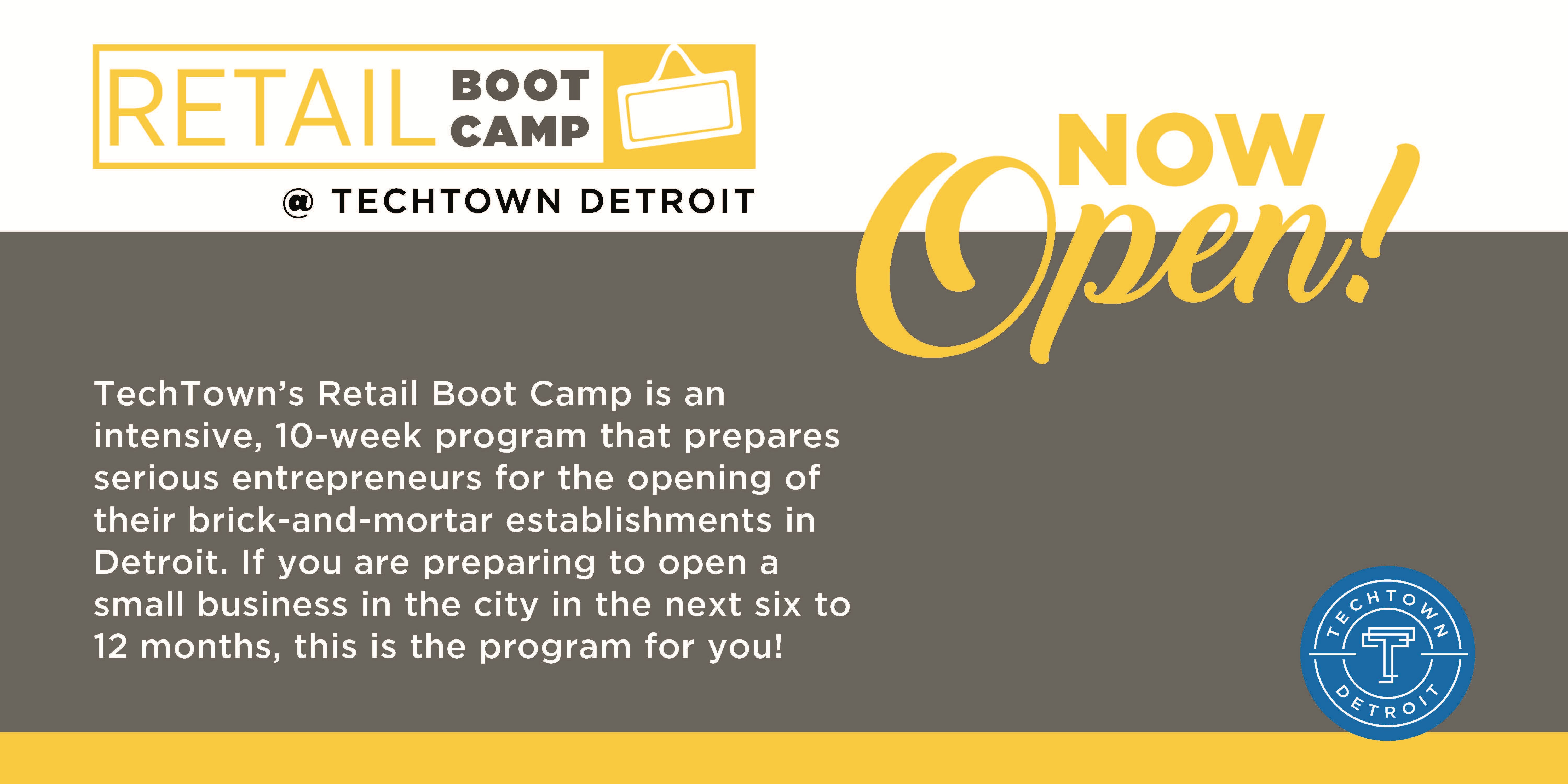 Retail Boot Camp Spring 2019 Application Info