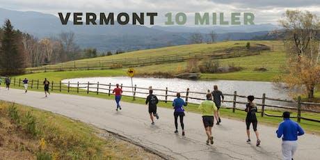 Vermont 10 Miler | 2019 tickets