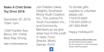 Make A Child Smile Toy Drive 2018