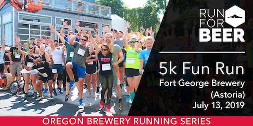 Fort George Brewery 5k Fun Run