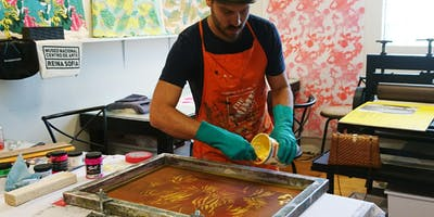 Text and Photographic Imagery: Screen Printing on Paper
