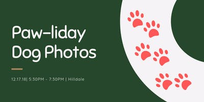 Paw-liday Dog Photos at Hilldale | Second Night Added