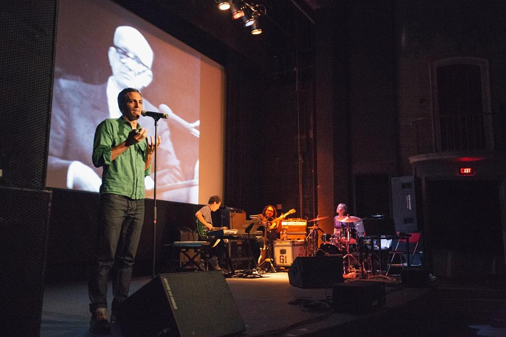 The Love Song of R. Buckminster Fuller by Sam Green with live score by Yo La Tengo