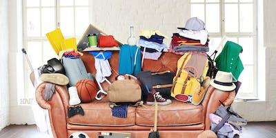 Living with Less, De-Cluttering Workshop  -  6 April 2019