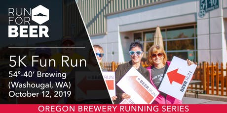 54º-40' Brewing 5k Fun Run tickets