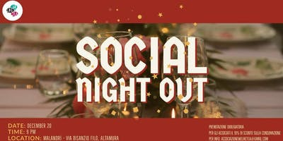 Social Night Out - Xmas Time