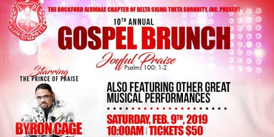 Rockford Alumnae Chapter Delta Sigma Theta Sorority, Inc. 10th Annual Gospel Brunch Fundraiser