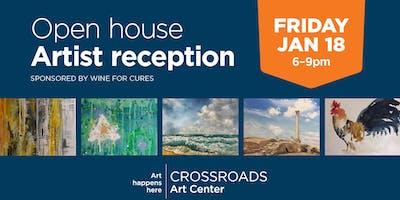 January Open House + Artist Reception