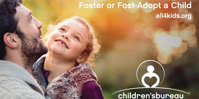 Foster or Foster-Adopt a Child Info Meeting Aug. 3