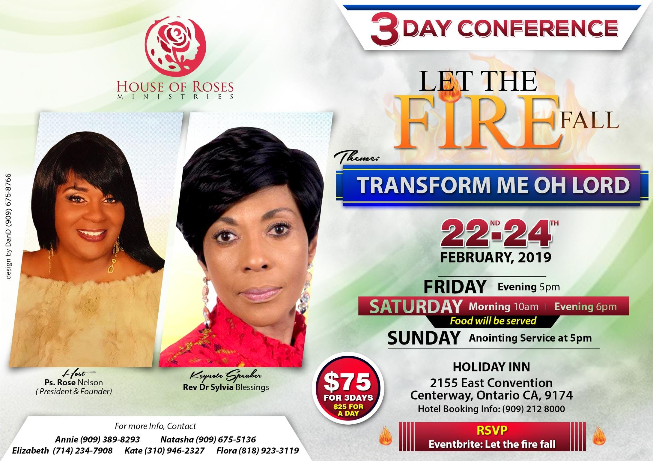 Let The Fire Fall (Transform me Oh Lord)