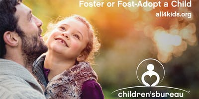 Foster or Foster-Adopt a Child Info Meeting Oct. 5