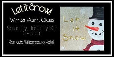 Let It Snow - Winter Painting Class