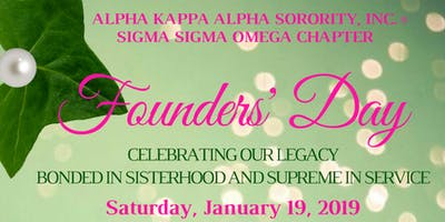 2019 AKA - Sigma Sigma Omega - Founders' Day Celebration