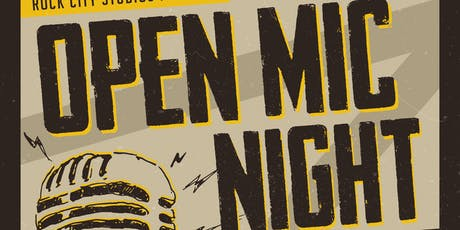 Adult Open Mic Night 2019  tickets