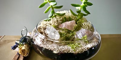Crystal Terrarium Workshop