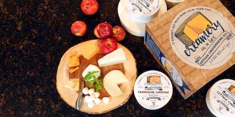 Cheesemaking tickets