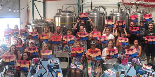 Poseidon Paint and Sip Class
