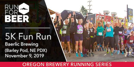 Baerlic Brewing 5k Fun Run tickets