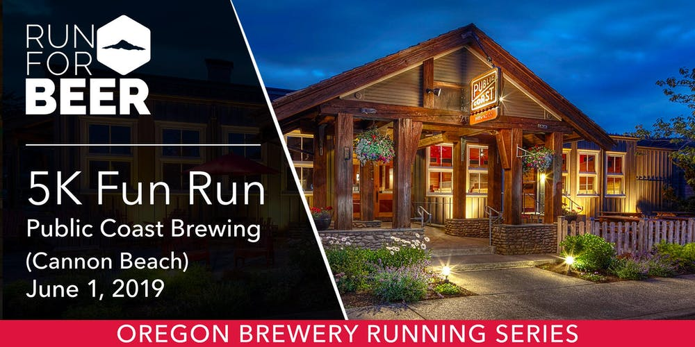 Image result for oregon brewery running series public coast brewery