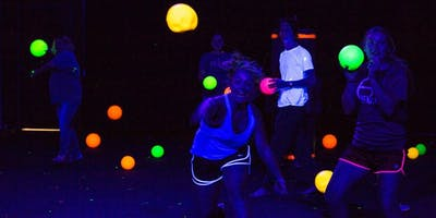 Boulder Ninja Night- Blacklight Dodgeball