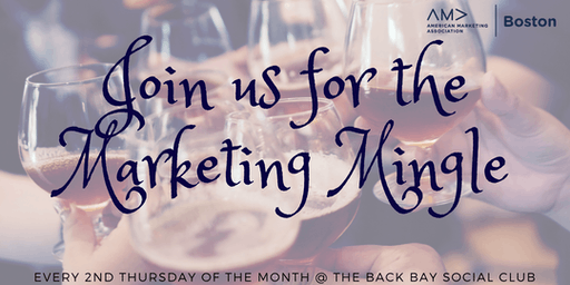 American Marketing Association Boston's Marketing Mingle 2019