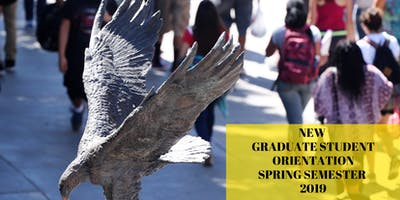 New Graduate Student Orientation, Spring 2019