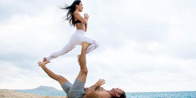 Acro Yoga Basics w/ Scoop!!!! All Levels NO Partner or Experience Needed!
